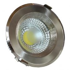 COB Downlight Round, Inox Body 10W/15W/20W/30W